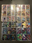 Marvel Universe Series 1 And 2trading Cards Set 1990 1991 Silver Surfer Spider-man