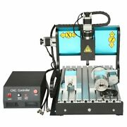 Asg 110v 600w 4 Axis Cnc 3040 Router Engraving Milling Machine Parallel Port