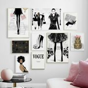 Fashion Art Wall Art Canvas Painting Posters And Prints Wall Pictures Decor Art