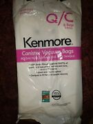 Sears Kenmore Genuine 6-pack Кеnmоrе Canister Vacuum Bags 12 53292 Type Q/c