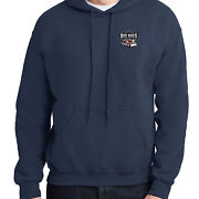 Big Rigs Truck Hoodie Only Left Chest Print Hooded Pullover - 2052p