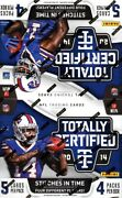 2014 Panini Totally Certified Football Hobby 14 Box Case Blowout Cards