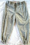 1940-50's Mitchell And Ness Vintage Wool Baseball Pant Mlb Cooperstown Collection