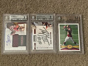 Various Robert Griffin Iii Beckett Graded Rookie Football Card Sold Separately