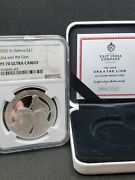 2020 Una And The Lion Silver Proof Coin Ngc Pf70 Ultra Cameo East India Trading