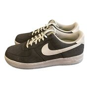 Nike Air Force 1 '07 Recycled Canvas Pack Iron Grey Cn0866 002 - Men's Size 14