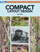 Book Compact Layout Design 12487 Model Railroad Trains 8 Plans Ho On30 N Scale