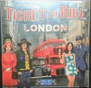 Brand New Ticket To Ride London Board Game
