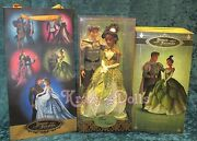 Disney Designer Fairytale Collection Doll Couple Princess Tiana And Naveen New