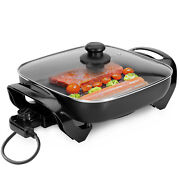 Geepas Multi Cooker Pot Electric Frying Pan Electric Skillet Non-stick 1500w