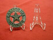 50 Easel Dk2-1/8 Display Stand Fire Police Emt Rescue Military Badge