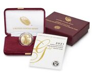 American Eagle 2021 One-quarter Ounce Gold Proof Coin Instock