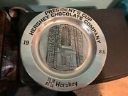 Vtg Presidentand039s Cup Hershey Chocolate Co. 1983 Pewter Plate Award By Wilton Co.