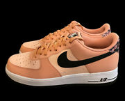 Nike Air Force 1 '07 Le 'japanese Cherry Blossom' Pink Cu6649 100 Men's Size 14