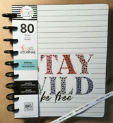 New Me And My Big Ideas The Happy Planner Colorful Leopard Classic Guided Journal