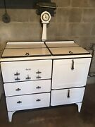 1930s All Porcelain Magic Chef Gas Stove/oven/broiler All Original