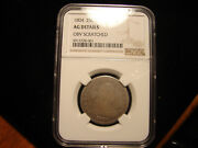 1804 25c Ag Details Scratched Ngc Draped Bust Quarter As Pictured.