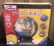 The Simpsons Puzzleball Ravensburger 240 Piece Brand New Sealed