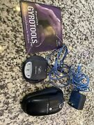 Gyration Wireless Ultra Cordless Optical Mouse Gp4101 And Usb Mini Dual Receiver