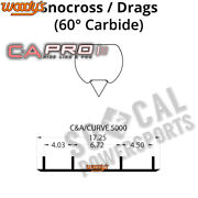 Canda Pro Carbides By Woody's Pair 10in Skidoo Mx Z Blizzard 900 Ace 2016-2018