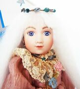 Antique Reproduction A11t Arthur Thuillier French Porcelain Doll Barbara Ota New