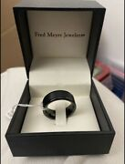 Fred Meyer Jewelers Tungsten Ring Mens Size 9