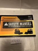 Aem Association Of Equipment Manufacturers Crawler Tractor Loaded Safety Manual