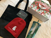 Starbucks For Life Coffee Collection 2020 - Tumbler Beanie Tote And Coffee Beans