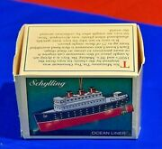 Schylling Ocean Liner Box Only Ours Had No Wheels On This Miniature Tin Toy