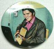 Elvis Presley Looking At A Legend 1990 Plate 6 A Studio Session