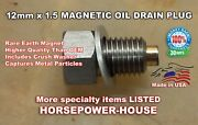 Us Made 12mm Magnetic Oil Drain Plug Bolt Many 2021 Honda Motorcycles See List
