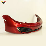 Fits 11-14 Mclaren Mp4-12c Oem Red Front Bumper Assembly Cover + Carbon Grills