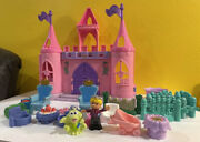 Lot Fisher Price Little People Dance N Twirl Palace Figure Horse Furniture Chair