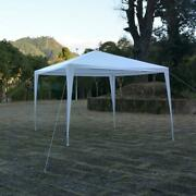 10'x10' Canopy Wedding Party Tent Gazebo Pavilion Event Outdoor White