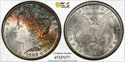 1882-s Morgan Silver Dollar Pcgs Gold Shield Ms 67+ / Cac Approved Toned