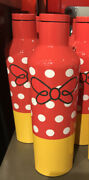 Disney Parks Minnie Mouse 16oz Corkcicle Canteen Water Bottle Stainless Steel