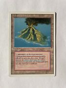 Volcanic Island Revised Dual Land Reserved List Mtg Nm Gradable