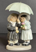 """Enesco Paap Kim Anderson """"love Weathers All Storms"""" 2000, 630519 Retired And Rare"""
