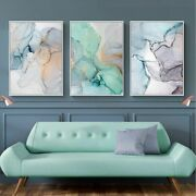 Abstract Canvas Painting Posters And Prints Wall Art Pictures For Living Room