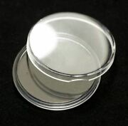 5 Direct Fit 37mm Coin Capsule For Mexican 50 Peso Gold