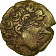 [517720] Coin Carnutes 1/4 Stater Gold Delestrandeacutee2534