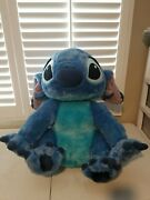 2 Ft Authentic Disney Parks Lilo And Stitch Plush Doll Stuffed Animal Huge