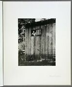 Beaumont Newhall  Signed Silver Gelatin Print  Edward Weston  Aperture 1993