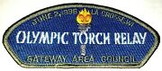 Gateway Area Council Wi Sa-45 1996 Olympic Torch Relay Csp Bsa