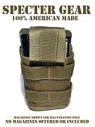 Specter Gear 285 Coyote Usmc Us Military Molle Single 20 Round Rifle Mag Pouch