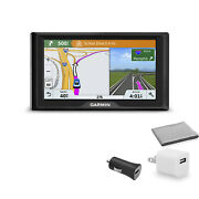 Garmin Drive 61 Lmt-s Navigation System U.s. And Canada Maps With Universal Usb