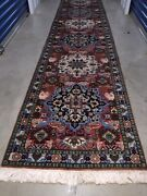 Absolutely Beautiful Large Wool Hand Knotted Rug Carpet Runner Size 164x30