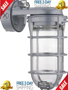 Explosion Proof Style Wall Mount Fixture Cage Retro Industry Light Commercial Us