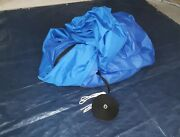 Taylor Made Boat Cover Fixed T-tops And Bow Rails 25and0394 L X 102 Beam Blue 1762