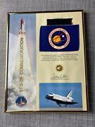 Nasa Space Shuttle Sts-26 Discovery Flown Flag